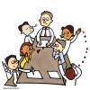 réunion bimensuelle des jeunes